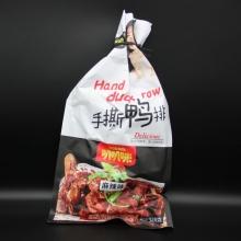 叭叭咪 手撕鸭排黑鸭味麻辣味休闲食品 净含量328g
