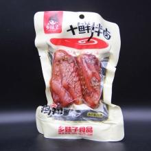 乡妹子 十鲜拌卤鸡翅休闲食品 净含量70g