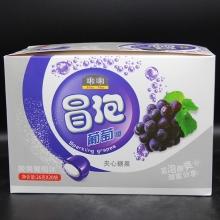 啝啝冒泡葡萄糖夹心糖果酸爽葡萄味26克/20袋