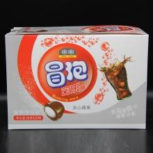 啝啝冒泡可乐糖夹心糖果酸爽可乐味26克/20袋