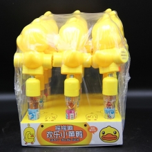 东栋 摇摇响欢乐小黄鸭玩具糖