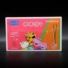 亿智 小猪佩奇棒棒饼干番茄味新包装 净含量48克
